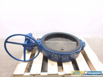 KEYSTONE AR1 MANUAL STEEL STEEL FLANGED BUTTERFLY VALVE