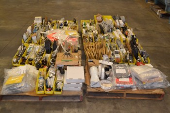 4 PALLETS OF ASSORTED VALVE PARTS