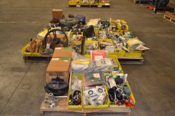 5 PALLETS OF ASSORTED VALVE REPLACEMENT PARTS
