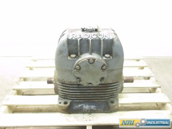 RADICON A U600-L-EB 20:1 WORM GEAR REDUCER