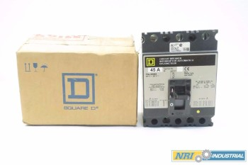SQUARE D FAL32045 3P 45A MOLDED CASE CIRCUIT BREAKER