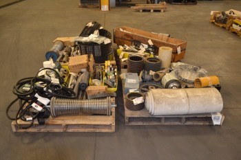 4 PALLETS OF ASSORTED POWER TRANSMISSION