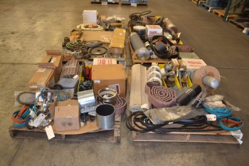 6 PALLETS OF ASSORTED POWER TRANSMISSION