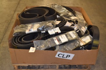 1 PALLET OF ASSORTED BELTS