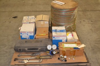 1 PALLET OF ASSORTED WELDING SUPPLIES