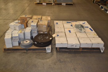 2 PALLETS OF ASSORTED ABRASIVES