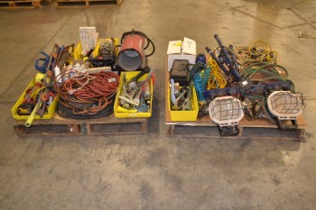 2 PALLETS OF ASSORTED TOOLS