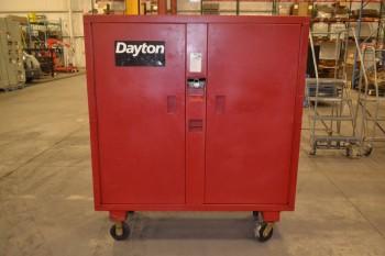DAYTON 6A579 2 DOOR, 2000LB CAPACITY ROLLING TOOL BOX