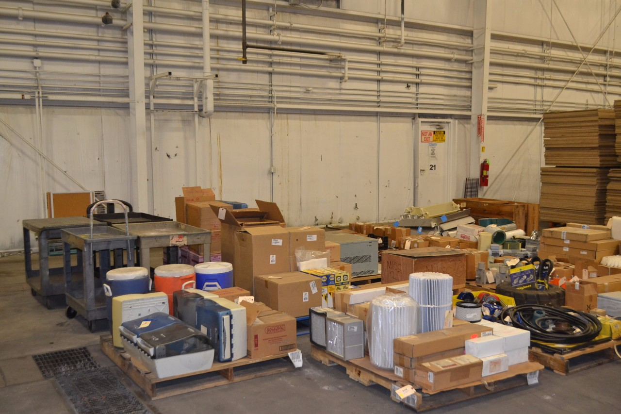 NRI Industrial Sales Inc. for event Massive Year Start Sale of Surplus Industrial and Commercial Equipment in Ohio