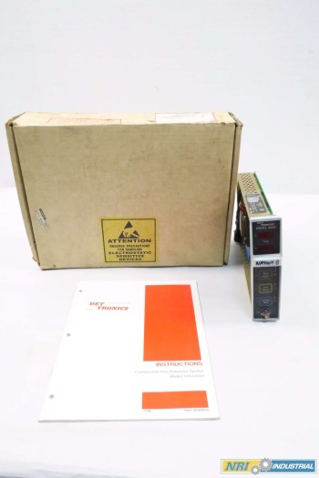 DET-TRONICS 226600-001 CONTROL