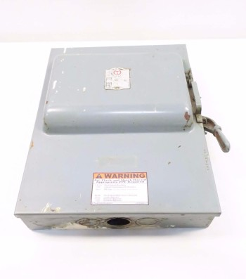 GENERAL ELECTRIC GE 72462 DISCONNECT SWITCH