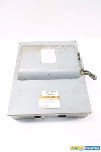 GENERAL ELECTRIC GE TC72462 DISCONNECT SWITCH