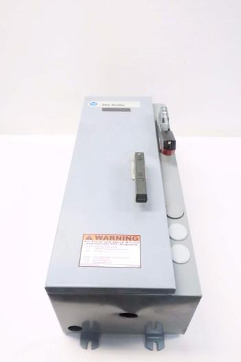 ALLEN BRADLEY 512-BJB-A2H-1-6P-24R-90 DISCONNECT SWITCH