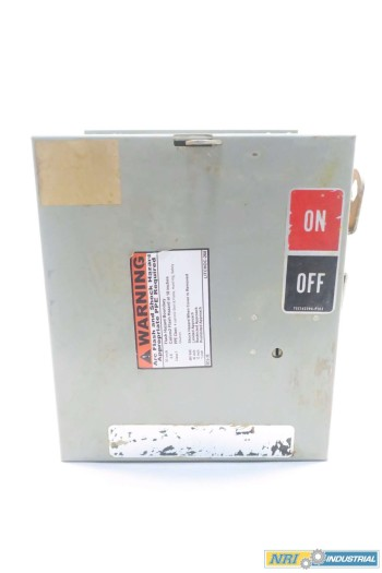 GENERAL ELECTRIC GE DE461R DISCONNECT SWITCH