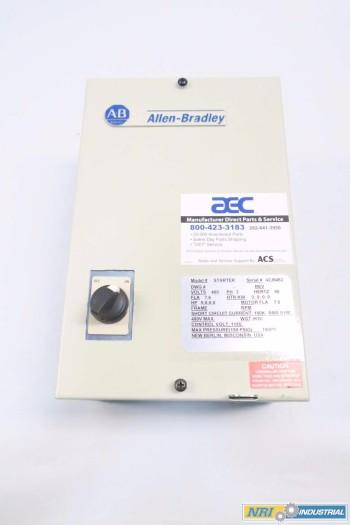 ALLEN BRADLEY 109-C30ADXXX-3E MOTOR STARTER