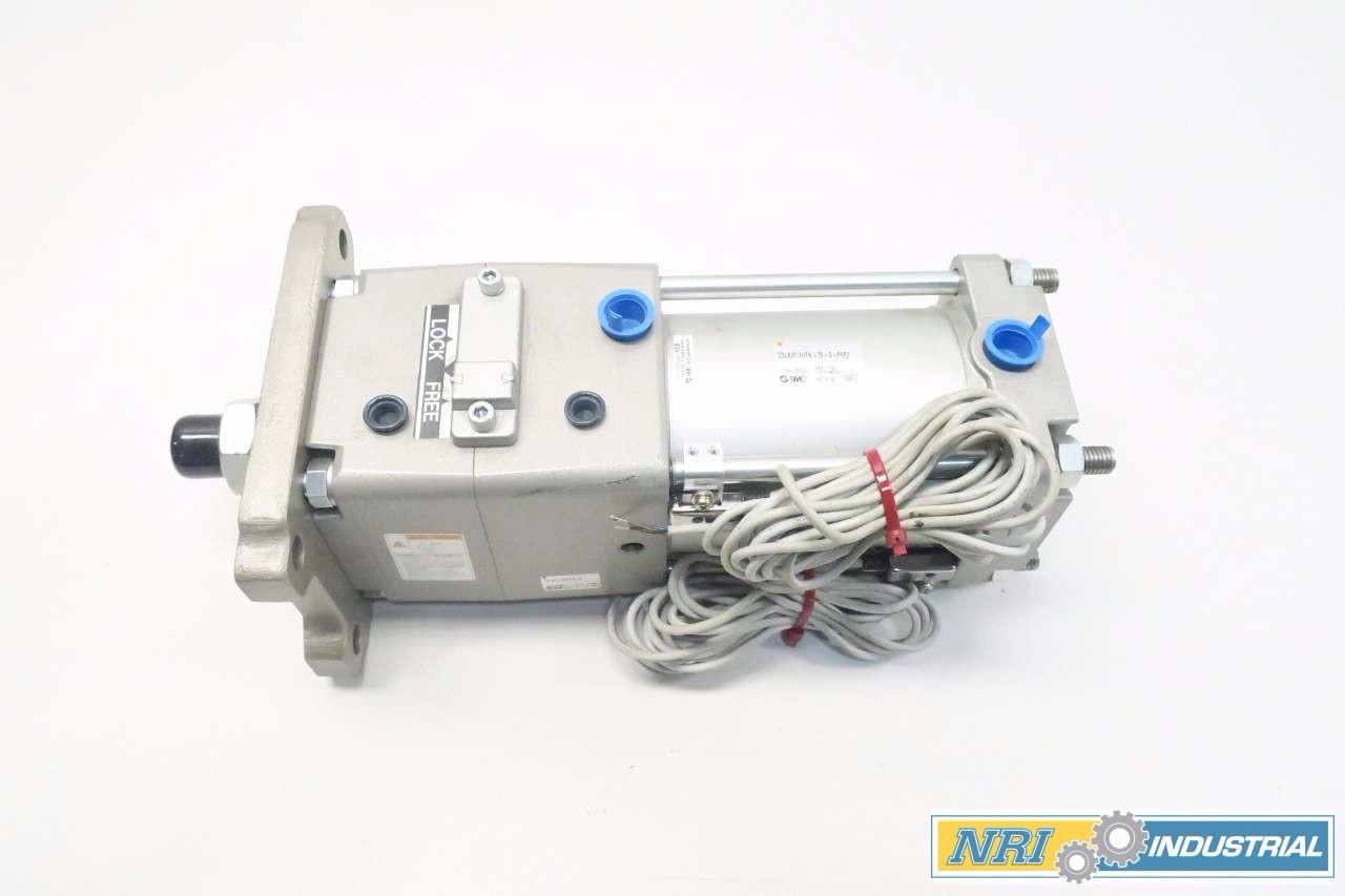SMC CDLA2F100TN-75-D-F5PZ PNEUMATIC CYLINDER