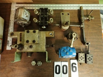 Hydraulic Pumps, Valves, Manifold Blocks, Sight Glass