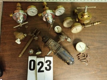 Torch Handle, Regulators, Misc Gauges