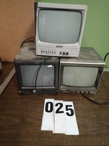 3 CCTV Monitors