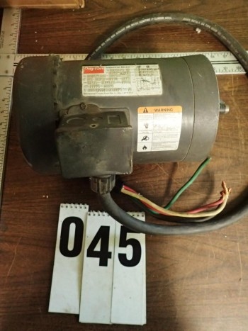 Dayton 1.5HP 3-Phase Motor, Tested, Good