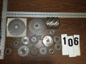 Horizontal Milling Cutters, 1\