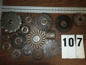 Horizontal Milling Cutters, 1-1/4\