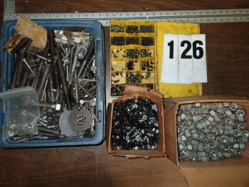 Hardware incl. Bolts, Nuts, & Set Screws