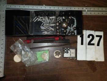 Hardware incl. Woodruff Keys, Springs, Bearing Balls, Roll Pins