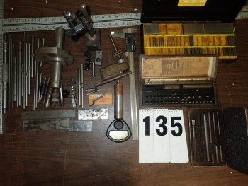 Inspection Equipment incl. Gauge Blocks, Standards, Calipers, Indicator Stand