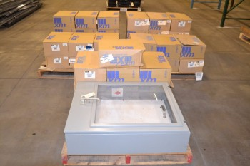 3 PALLETS OF ASSORTED ELECTRICAL ENCLOSURES