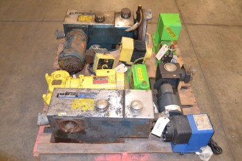 1 PALLET OF ASSORTED METERING PUMPS