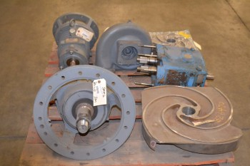 1 PALLET OF ASSORTED PUMP REPLACEMENT PARTS