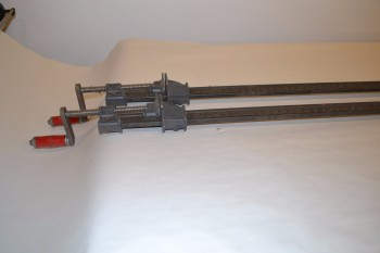 LOT OF 2 HARGRAVE 640 BAR CLAMPS