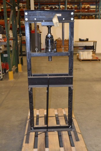OMEGA 20 TON HYDRAULIC SHOP PRESS WITH BOTTLE JACK