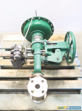 FISHER ET CAV III 1-1/2IN CL300 STAINLESS CONTROL VALVE
