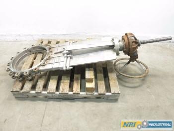 FNW 65BM 18IN CL150 STAINLESS KNIFE GATE VALVE