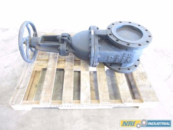 LUNKENHEIMER 10IN CL125 IRON WEDGE GATE VALVE
