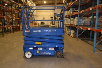 UPRIGHT MX15 65600-000 SCISSOR LIFT, MAX LOAD 550 LBS