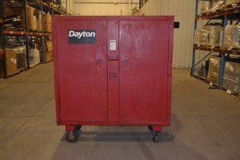 DAYTON 2-DOOR ROLLING JOB BOX
