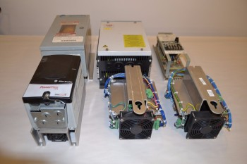 LOT OF 6 ASSORTED MOTOR DRIVES