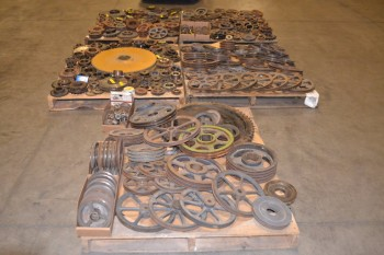 5 PALLETS OF ASSORTED POWER TRANSMISSION