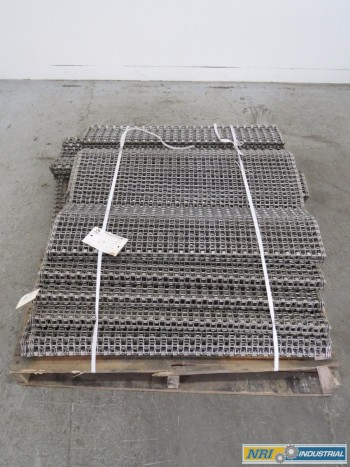 CAMBRIDGE A80146-2 STEEL MESH 50FT 3FT CONVEYOR BELT