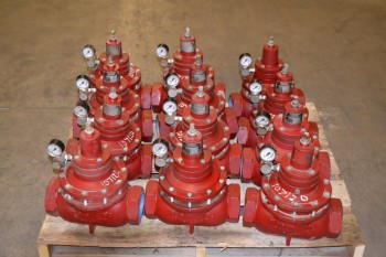 1 PALLET OF KIMRAY 3 IN NPT GAS REGULATOR 312SGTBP 175PSI