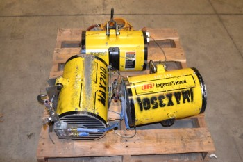 LOT OF 3 ASSORTED INGERSOLL-RAND LIFTING AND BALANCING UNIT