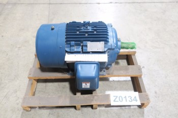 SIEMENS TYPE RGZP, 30HP, 1765RPM, 460V-AC, 3PH, 2806T