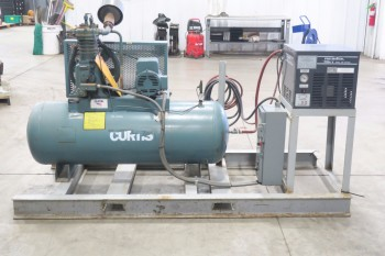 CURTIS CV969 20X66, 80GAL AIR COMPRESSOR