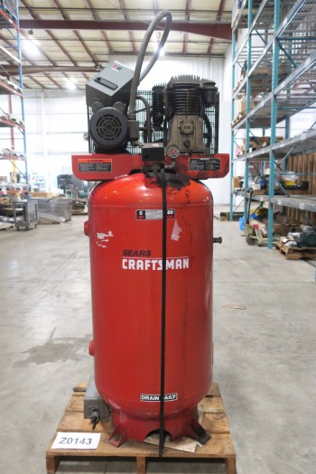 SEARS CRAFTSMAN 919.177150, 80 GALLON AIR COMPRESSOR