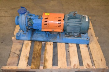 GOULDS 3196 1X1.5-8 CENTRIFUGAL PUMP ASSSEMBLY, 3HP