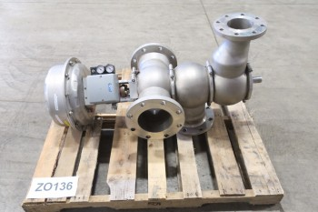 GEA 6IN X 4IN DIVERT VALVE FLANGED STAINLESS CLASS 150