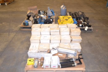 3 PALLETS OF ASSORTED HYDRAULIC